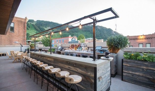 Top Rooftop And Patio Hangouts In Aspen Aspen Co Chamber
