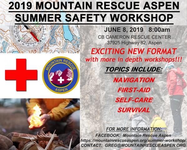 Mountain Rescue Aspen Summer Safety Workshop | Aspen CO Chamber