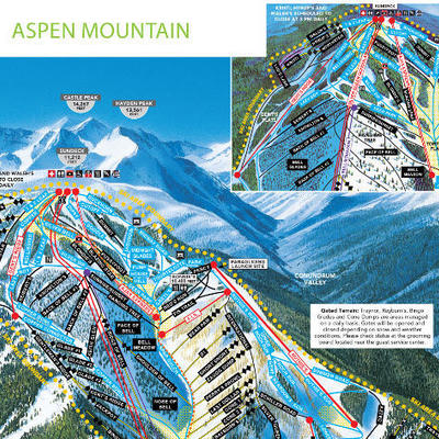 Aspen Colorado Maps | Find your Way in Aspen