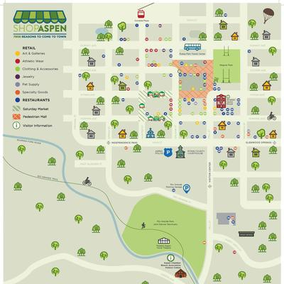 Aspen Colorado Maps | Find your Way in Aspen