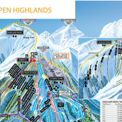 highlands trail map
