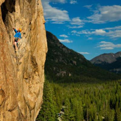 Independence Pass Rock Climbing