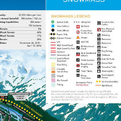 Snowmass Trail Map