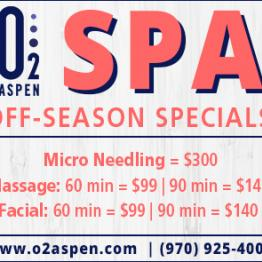 SPA Off-season Specials