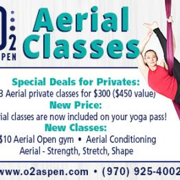 Aerial Classes - Special Deals