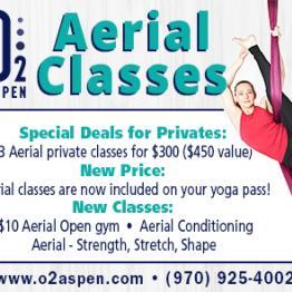 Aerial Classes - Special Deals