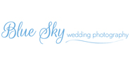 Blue Sky Wedding Photography